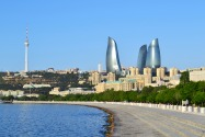 Road signs in Azerbaijan