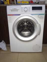 Bosch Washing machine & Bompani Gas grill/oven with warranty for another 1-1/2 years