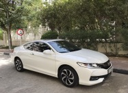 2016 WHITE HONDA ACCORD COUPE V4- EXCELLENT CONDITION