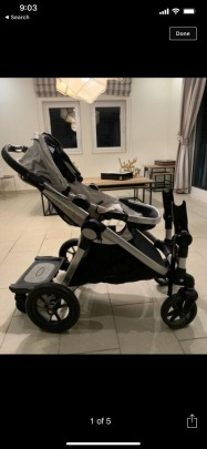 baby jogger city select stroller full accessories