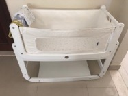 SnuzPod Bedside Crib - White