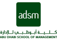 Abu Dhabi School of Management (ADSM) in Abu Dhabi