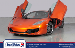 2012 McLaren MP4-12C 3.8l 616bhp Dealer Warranty / FSH – GCC Specs