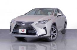 SUMMER OFFER • 0% DP • 2,100 PM • 2016 Lexus RX350 3.5 V6 295bhp 4WD • Warranty • GCC • FSH