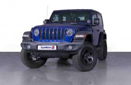 SUMMER OFFER • 0% DP • 2,100 PM • 2018 Jeep Wrangler JL Sport T/R 3.6 V6 285bhp • Jeep Warranty •GCC