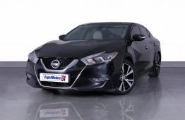 SUMMER OFFER • 0% DP • 1,500 PM • 2018 Nissan Maxima SV 3.5 V6 FWD 300bhp • FSH • GCC • Warranty