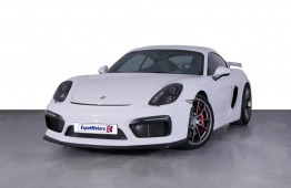 SUMMER OFFER • 4,800 PM • 2016 Porsche GT4 Cayman 3.8 F6 RWD 380bhp • GCC • Porsche Warranty