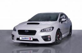 SUMMER OFFER • 1,650×48 PM • 0% DP • 2017 Subaru WRX 2.0TC I4 4WD 268bhp • GCC • Warranty