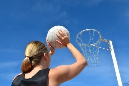 Playing Netball in Oman