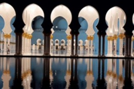 The Sheikh Zayed Grand Mosque in Pictures