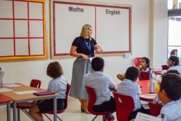 Schools in Dubai: Kings' Welcomes Students to New School Year