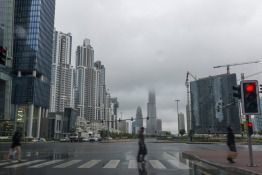 Winds, Rain and Snow Cause Chaos in the UAE
