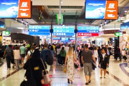 Dubai Airport Busiest Day Summer 2018