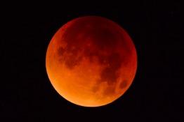UAE Blood Moon July 2018