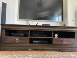 Tv and media unit perfect for all your media storage