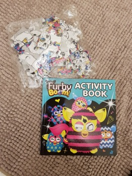 NEW Furby puzzle and activity book