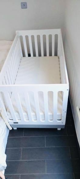 Brand new cot and mattress