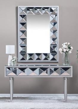 Home Center Mirrored Console
