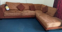 L-Shape Sofa almost in new condition AED600/-