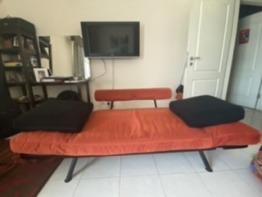 Extendable single sofa cum bed