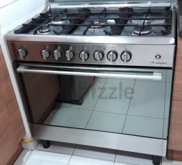 Gas Cooker with Electric oven 90 x 60cm