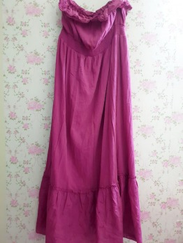 Purple Long Dress   -