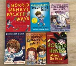 Horrid Henry Children book set