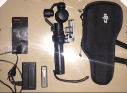 Dji Osmo, with extra battery