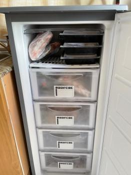 Daewoo Upright Freezer