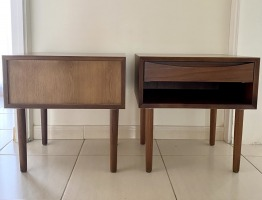 Art Deco bedside tables x 2