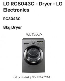 Must have in UAE - LG 8KG full Condensing Dryer