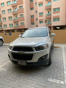 Chevrolet captiva white color model 2013 very clean, lady driven
