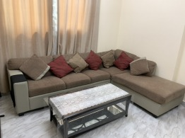 SOFA SET FOR SALE ALONG WITH COFFEE TABLE (NEGOTIABLE)
