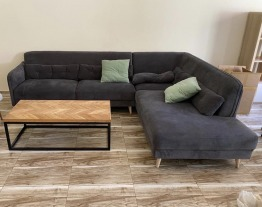 Grey Couch (perfect condition)