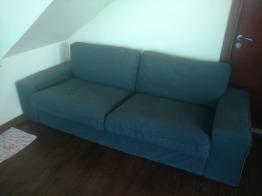 Dark grey couch - KIVIK Ikea