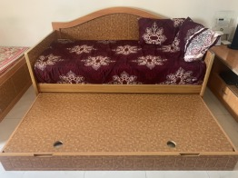 Personally furnished sofa cum bed