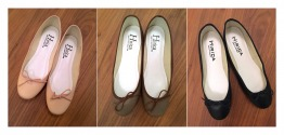 3 Hirica Leather (Ballerines) Shoes