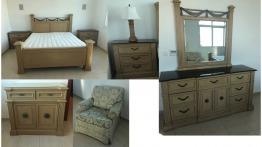 Bed room set - Solid wood