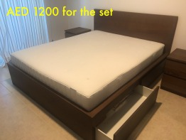 1 year old furniture, single user and in mint condition!!