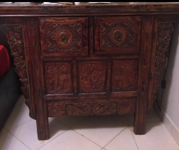 Solid wood antique