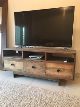 West Elm Emerson Media console/TV cabinet for sale (TV not included)
