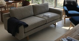 West Elm Eddy sofa - 2 seater gray. In excellent condition with no damages at all. Light usage