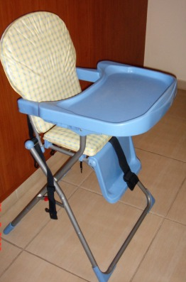 High chair for toddlers