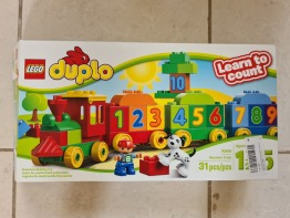 Duplo LEGO 31 Pieces  Number train