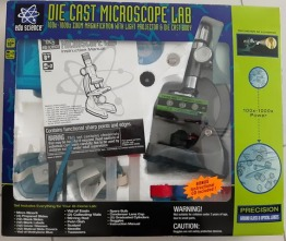 Die Cast Microsope Lab