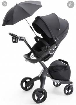 Stokke Stroller plus all attachments like NEW
