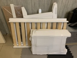 Baby cot , bassinet and changing table