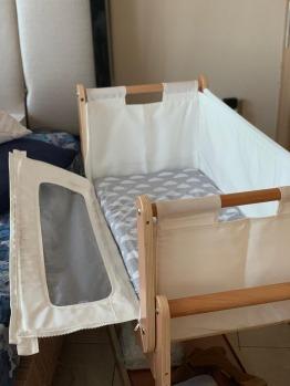 Preloved Snuzpod bedside crib