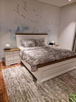Modern King Size Bed Set 4 Pieces Incl Free Mattress