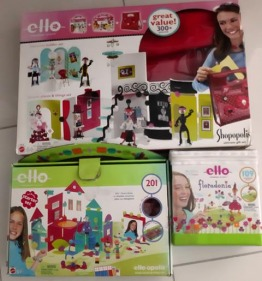 Ello Toy Creation System  = three sets